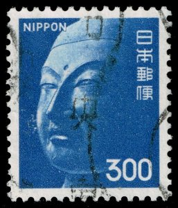 Japan #1083 Buddha Sculpture; Used