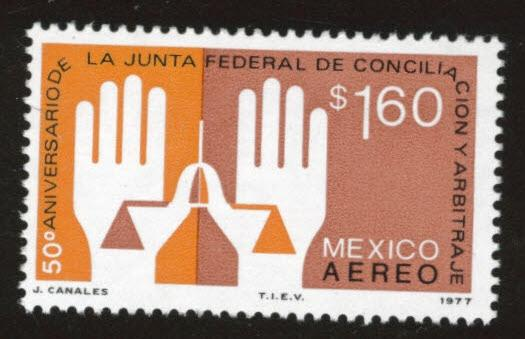 Mexico Scott c536 MNH** airmail