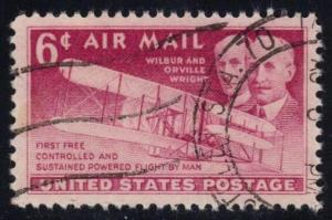 US #C45 Wright Brothers, used (0.25)