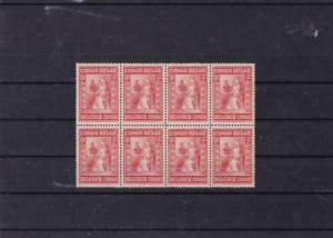 belgium congo mounted mint block  stamps ref r15798