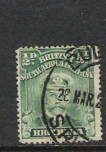 RHODESIA 119b PERF. 15 VFU 902C