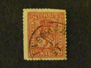 Norway #21 used  c203 537