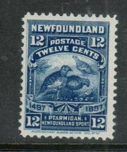 Newfoundland #69 Very Fine Never Hinged
