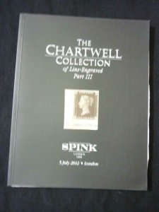 SPINK AUCTION CATALOGUE 2012 THE CHARTWELL COLLECTION - LINE ENGRAVED - PART 3
