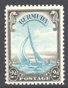 Bermuda Scott 108 - SG101, 1936 George V 2d MH*