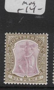 Montserrat SG 29a MOG (9dte)