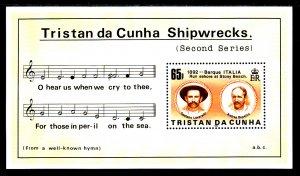 Tristan da Chuna 396 Souvenir Sheet MNH VF