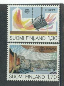 Finland 679-80  MNH cgs