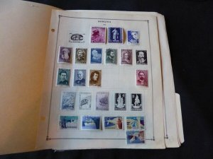 Romania 1960-1963 Stamp Collection many on Scott Intl Album Pages