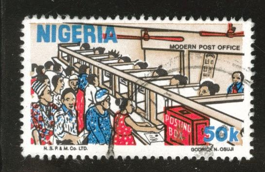 Nigeria Scott 498 used 1986 stamp