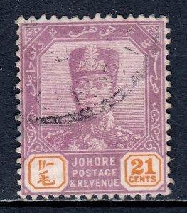 Malaya (Johore) - Scott #92 - Used - SCV $3.25