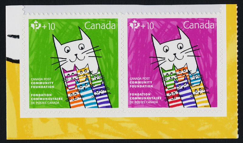 Canada B26a MNH Cats, Community Foundation