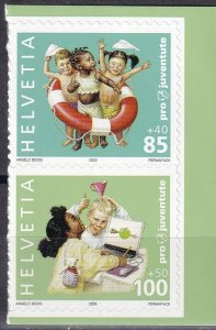 Switzerland #B693, B695  MNH CV $4.25  (Z4599)