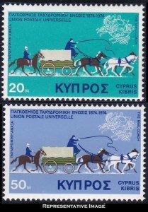 Cyprus Scott 434-435 Mint never hinged.