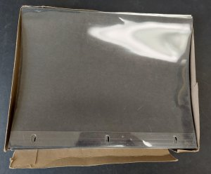 VPD SHEET PROTECTORS - Lot of 42 - never used.  measures 8 1/2 x 11 inches,