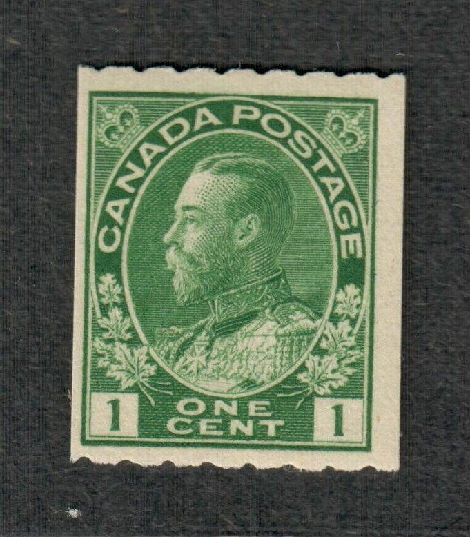 Canada Sc#123, M/NH/F-VF, Perf. 8, Coil Stamp, Cv. $275