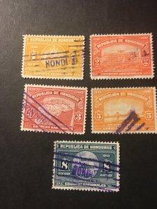 Honduras sc 336-340 u comp set