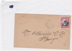 grenada 1944 stamps cover Ref 8441