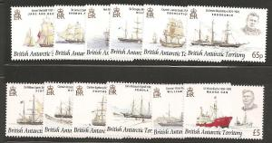 British Antarctic Territory SC 387-98 MNH