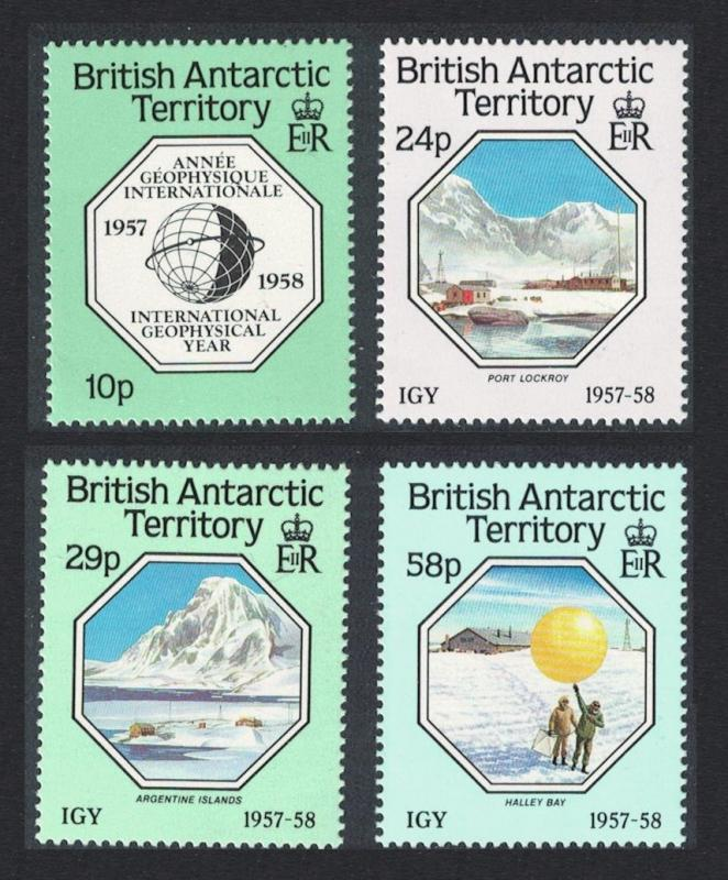 BAT 30th Anniversary of International Geophysical Year 4v SG#159-162