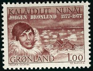 Greenland Slania Scott #106 VF MNH...Nice!
