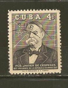 Cuba 622 Cespedes Used