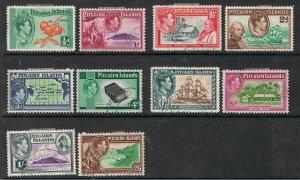PITCAIRN ISLANDS 1940 - 51 KING GEORGE VI & FLETCHER CHRISTIAN