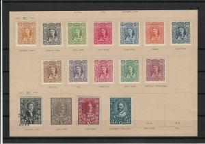 montenegro 1907 - 1910  stamps ref r12758