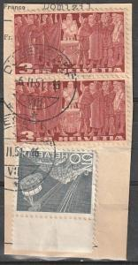 #284,227 Switzerland Used on paper