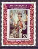 Pitcairn Islands 1993 40th Anniversary of Coronation unmo...