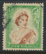 New Zealand SG 731 SC# 296 Used  see details 1953 QE II  Definitive Issue
