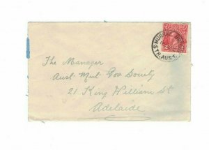 APH1462) Australia 1932 2d Red KGV Die III Small Cover