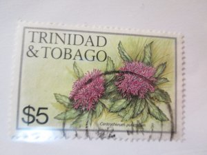 Trinidad and Tobago #406f used 2019 SCV= $3.25