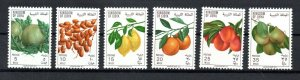 1969 - Libya  - Kingdom of Libya -  Fruits - Complete set 6 v.MNH**