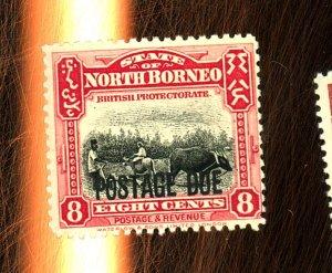 North Borneo #J46 MINT Fine OG LH Cat $11