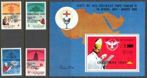 Biafra Sc# 27-31 MNH 1969 Christmas