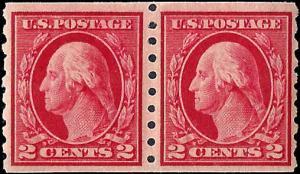 413 Mint,OG,NH... Pair... SCV $260.00