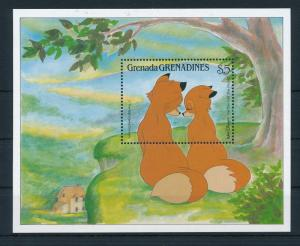 [22454] Grenada Grenadines 1988 Disney The Fox and the Hound MNH