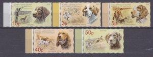 2019 Abkhazia Republic 983-987 Dogs 10,00 €