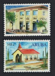 Aruba Anniversaries 2v SG#261-262