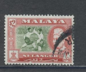 Malaya - Selangor 111  F-VF  Used