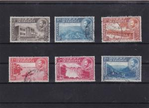 Ethiopia 1947 views used stamps Ref 8142