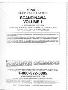 Minkus Scandinavia Volume 1 MSC106 Supplement 2006