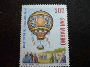 San Marino - First Manned Balloon Flight