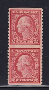 540a Pair VF original gum mint never hinged with nice color cv $ 125 ! see pic !