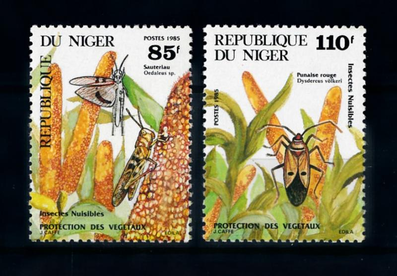 [70581] Niger 1985 Insects From Set MNH