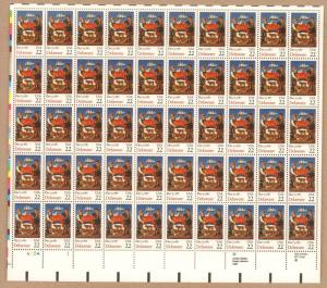 # 2336 Delaware  MNH  22¢ Sheet of 50  Issued in 1987
