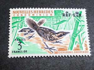 French New Hebrides Scott 122 Mint OG CV $16