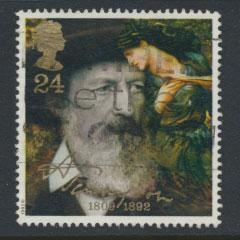 Great Britain SG 1607    Used  - Lord Tennyson