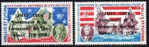Wallis And Futuna Islands #205-6  MNH CV $9.00 (P453)